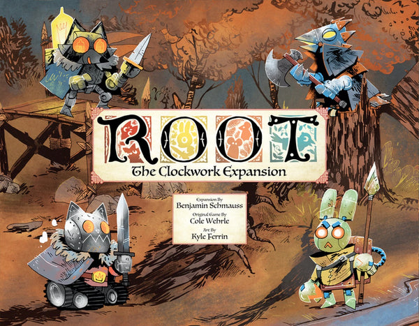 Root The Clockwork Expansion (Exp)