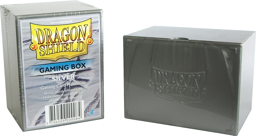 Dragon Shield: Gaming Box - SILVER