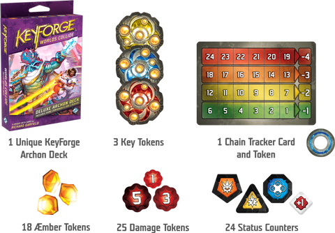 KeyForge Worlds Collide Deluxe Deck