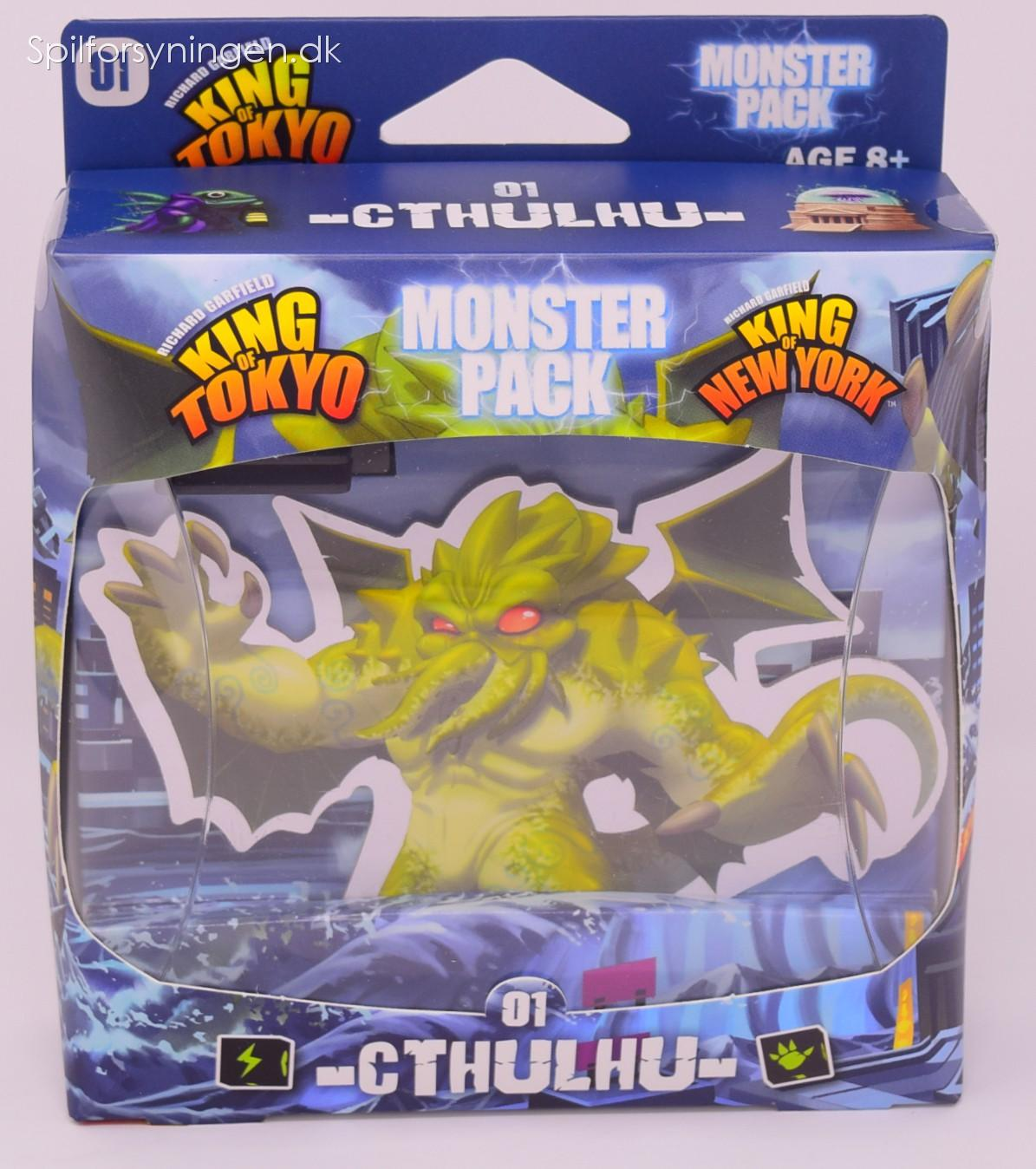 King of Tokyo: Monster Pack – Cthulhu (Exp) (Eng)