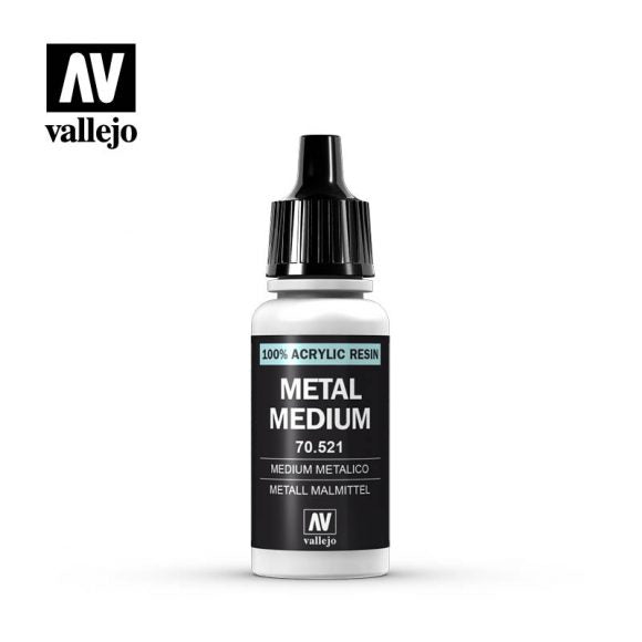 Vallejo Game Color - Metal Medium