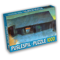 Art Puzzle Oluf Høst 1000 (Puslespil)