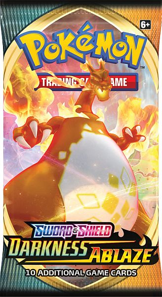 *Forudbestilling* Pokemon Sword & Shield 3 Darkness Ablaze Booster