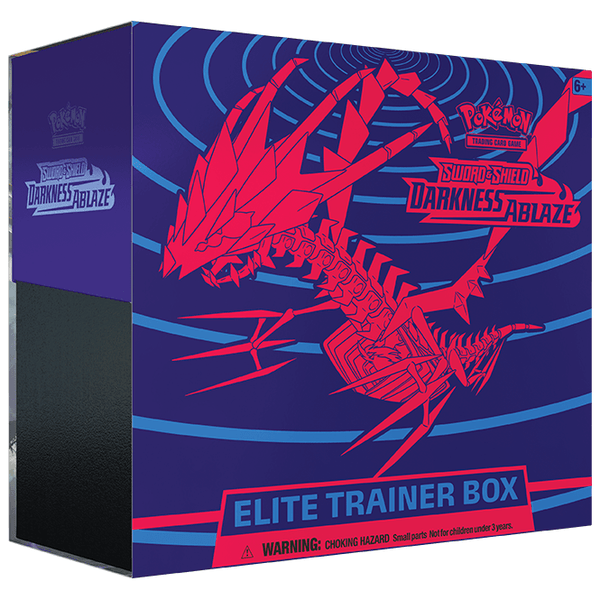 *Forudbestilling* Pokemon Sword & Shield 4 Darkness Ablaze Elite Trainer Box