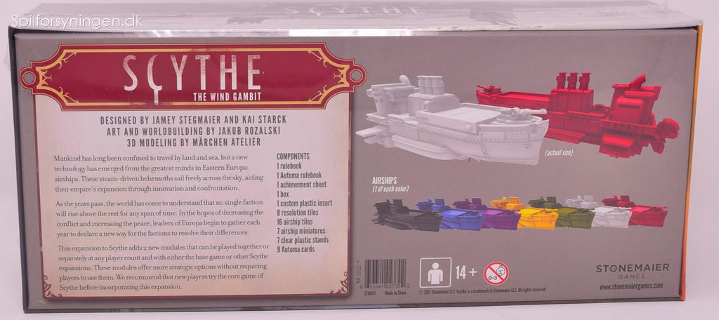 Scythe - The Wind Gambit (Exp)