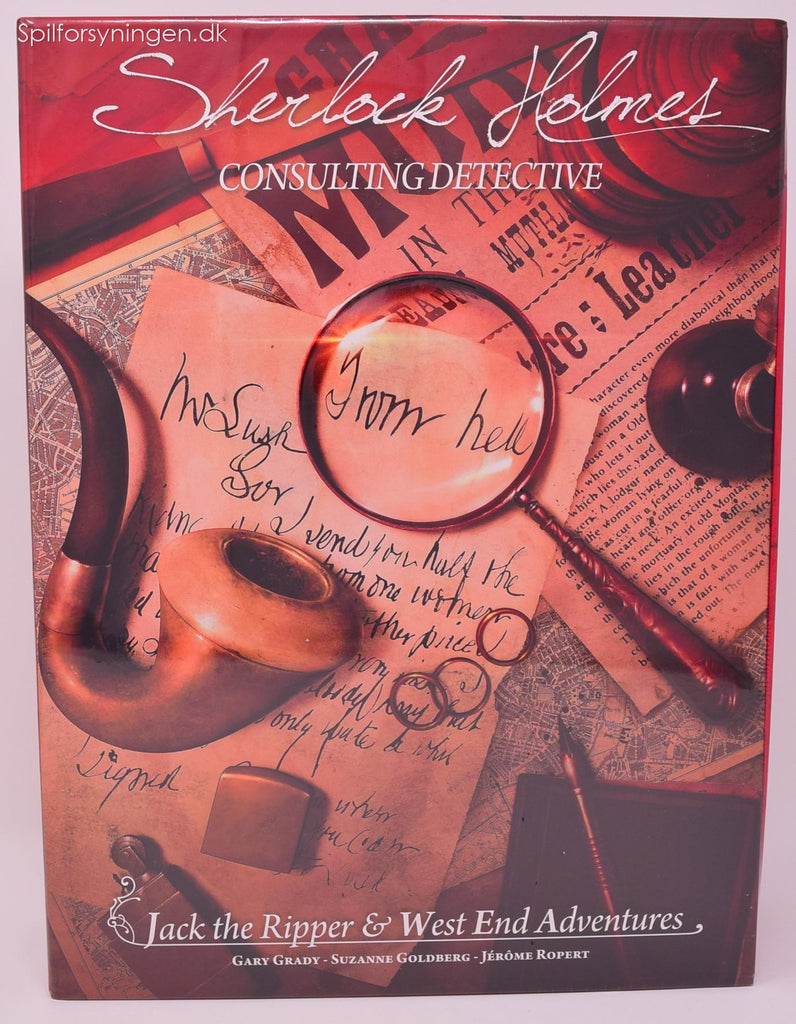 Sherlock Holmes Consulting Detective Jack the Ripper & West End Adventures (Eng)