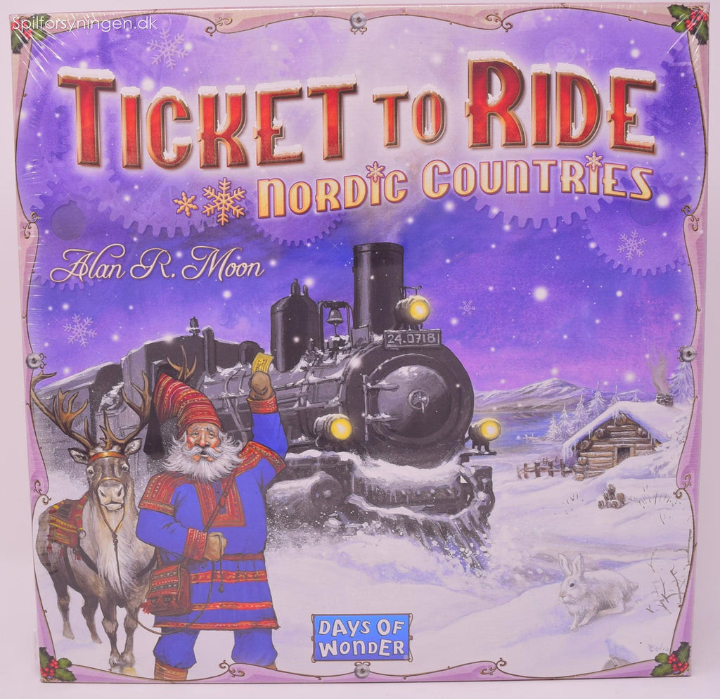 Ticket To Ride Nordic Countries (Nordic)