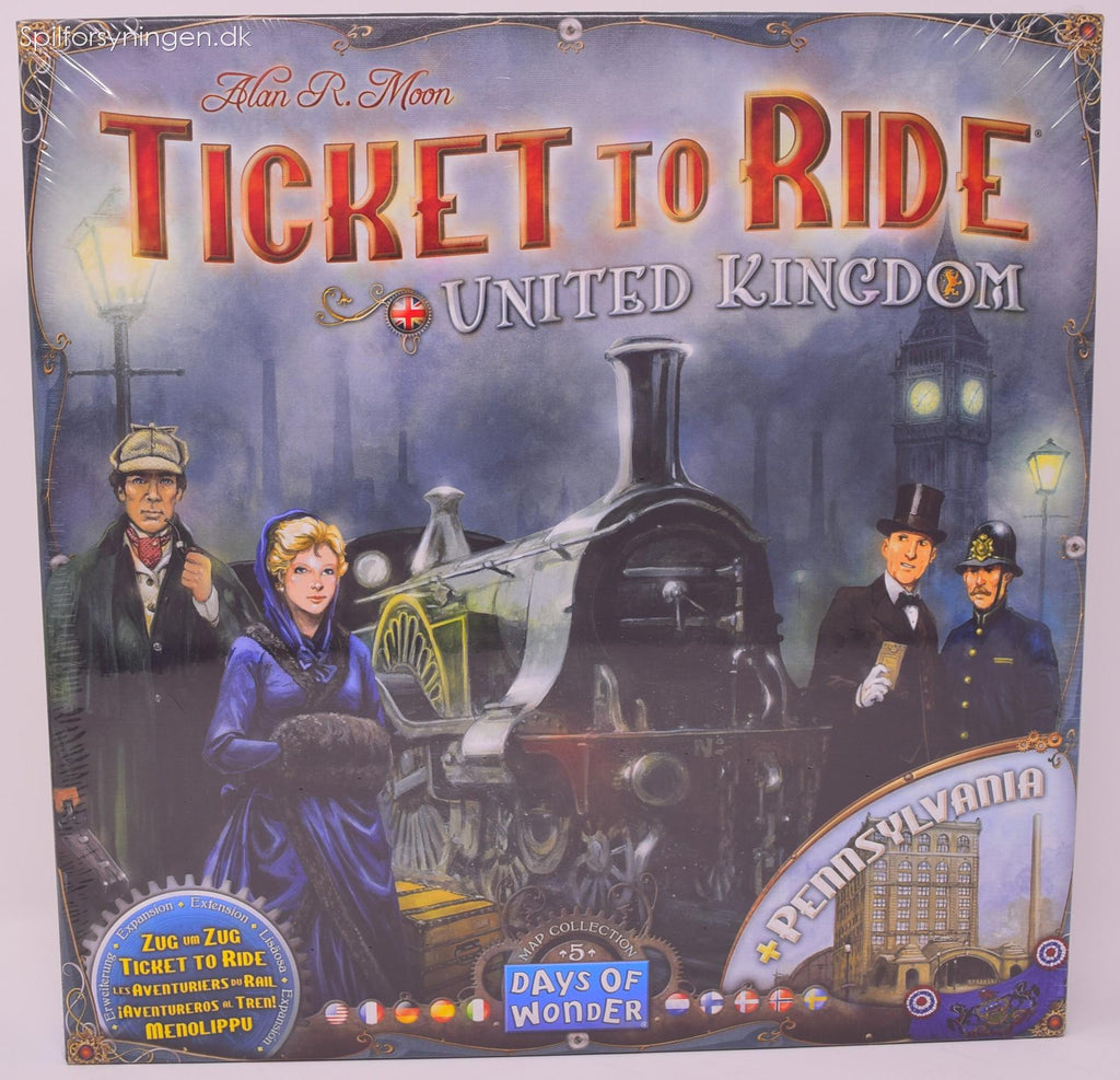 Ticket To Ride Map Coll. #5 (UK)