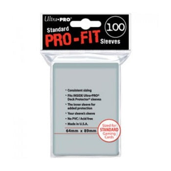 Card Sleeves Pro-Fit Standard