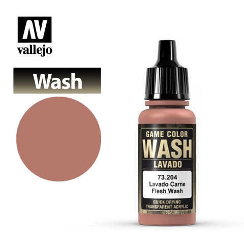 Vallejo Game Color Wash - Flesh Wash