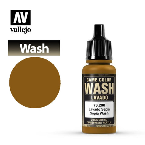Vallejo Game Color Wash - Sepia Shade
