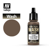 (73203) Vallejo Game Color Wash - Umber Wash