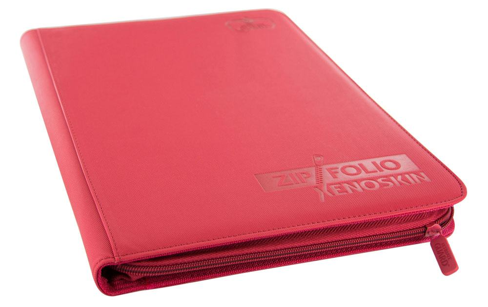 Ultimate Guard Zipfolio 360 - 18-Pocket XenoSkin™ - Red
