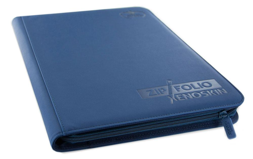 Ultimate Guard Zipfolio 360 - 18-Pocket XenoSkin™ - Blue