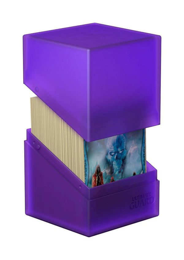 Ultimate Guard Boulder Deck Case Amethyst 100+ Standard
