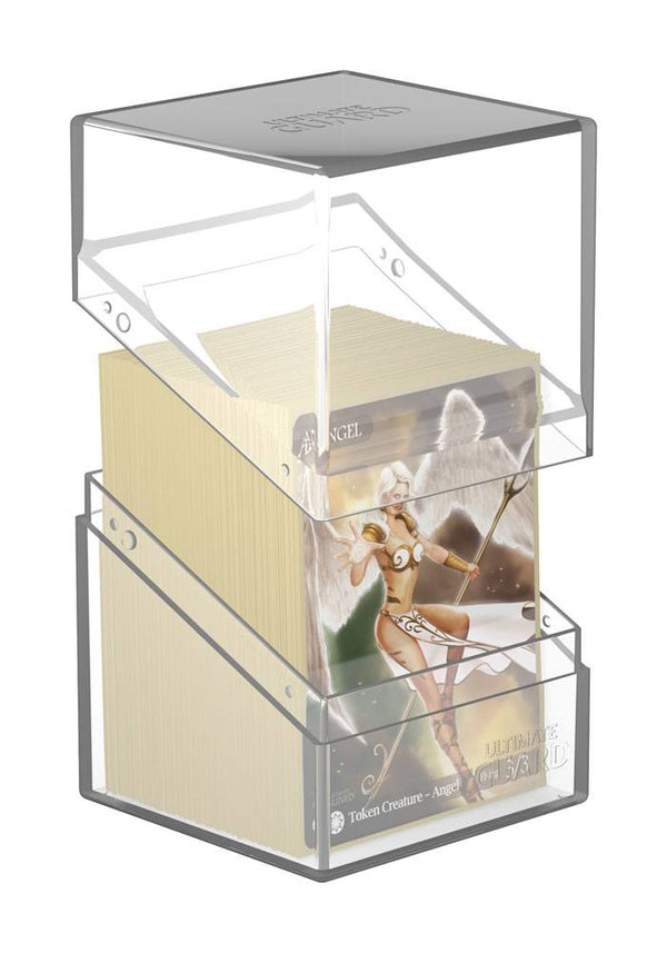 Ultimate Guard Boulder Deck Case Clear 100+ Standard