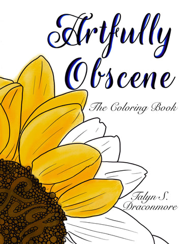 Artfully Obscene Coloring Book