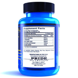C-Gone (Carb/Fat Burner) PRIDE NUTRITION Inc.
