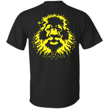 G200 Gildan Ultra Cotton T-Shirt with Pride Lion on Back