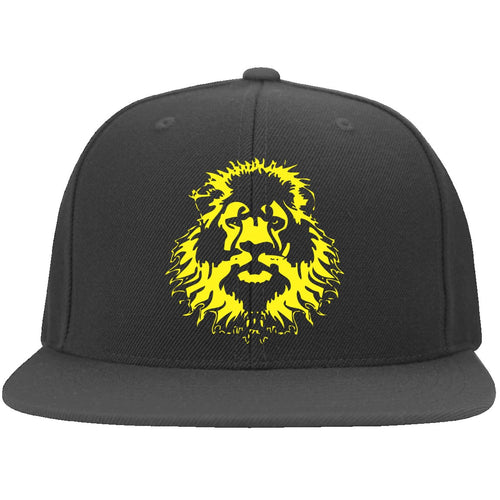 Pride Nutrition Lion 6297F Yupoong Flat Bill Twill Flexfit Cap CustomCat