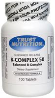 Trust B-Complex 50 mg 100 Caps PRIDE NUTRITION