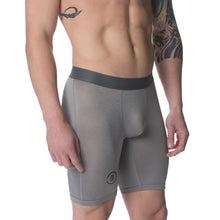 Quick Dry Sports Boxer Brief Underwear Silver