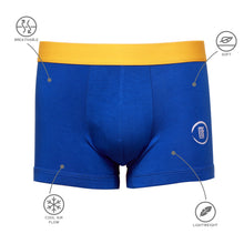 Royal Blue Bamboo Boxer Brief Underwear Small