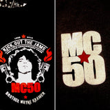 logo piston flames wayne kramer mc5 mc50th hoodie