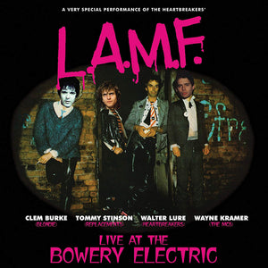 L.A.M.F. Live At The Bowery Electric CD