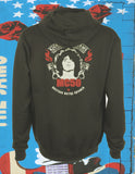MC50th Piston Flames Tour Logo Hoodie