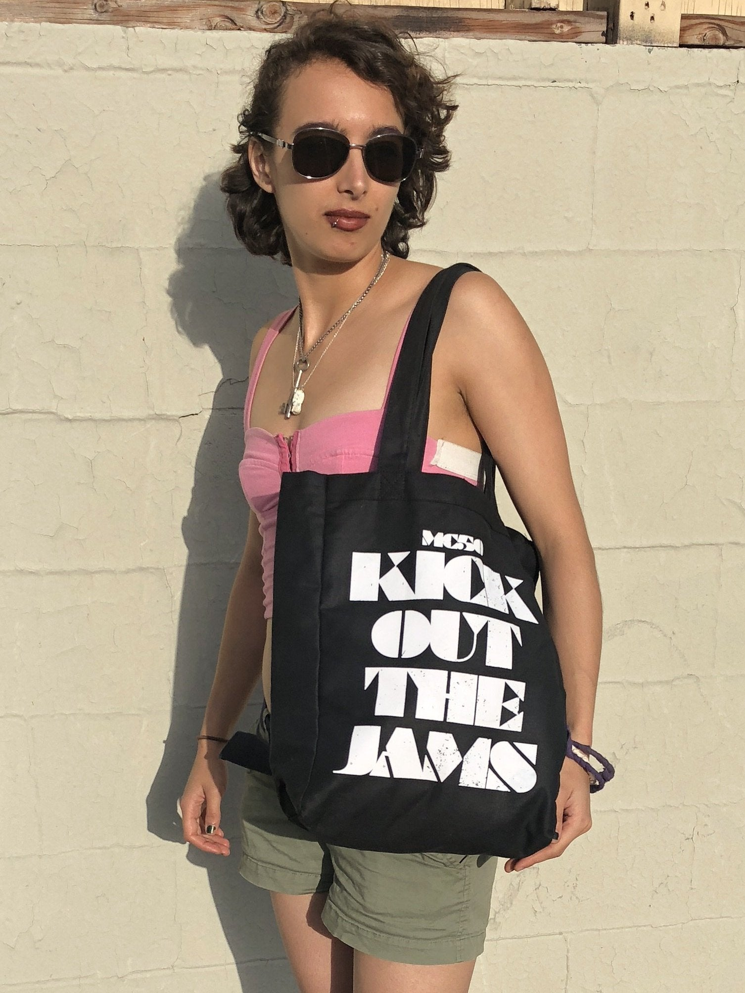 "MC50th ""Kick Out The Jams"" Heavy Canvas Tote Bag"