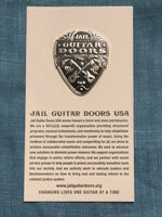 Jason Heath of Greedy Souls Jail Guitar Doors Pin