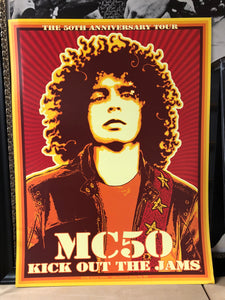 MC50th Official Tour Poster by Chuck Sperry