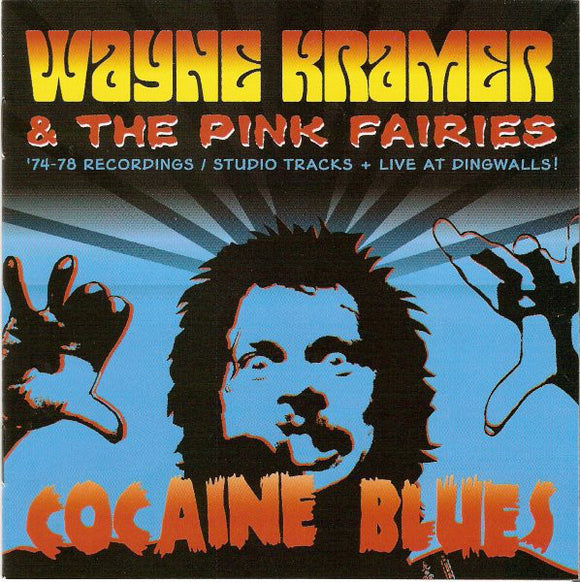 Wayne kramer and the pink fairies vinyl record albu, COCAINE BLUES