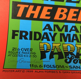 Gary Grimshaw Signed Wayne Kramer and The Bellrays in San Francisco