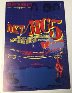 "Motor City 5 ""Kick Out The Jams"" Promo Poster"