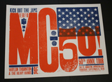 MC50TH Anniversary Tour Poster 2018
