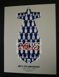 MC5 DKT Silkscreen Poster : Emo's 12th Anniversary