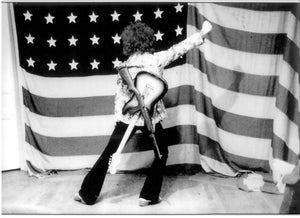 Wayne Kramer's True Patriot Leni Sin Clair photo is one to put in your den and brag about. This Limited Editions MC5 Kick Out The Jams Rock N' Roll photo is a keeper. Not to mention the proceeds are donated to Leni Sinclair. Charitable and totally stellar. KICK OUT THE JAMS MF!