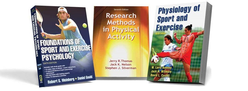 3 Human Kinetics textbooks