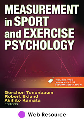 Measurement in Sport and Exercise Psychology Web Resource