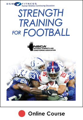 Strength Training for Football Online CE Course