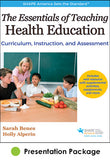 Essentials of Teaching Health Education Presentation Package, The