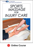 Sports Massage for Injury Care Ebook With CE Exam