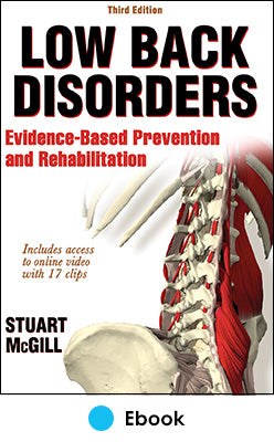 Low Back Disorders 3rd Edition PDF With Web Resource