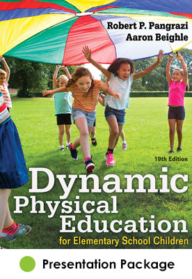 Dynamic Physical Education for Elementary School Children Presentation Package-19th Edition