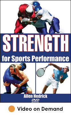 Strength for Sports Performance Video on Demand-HK