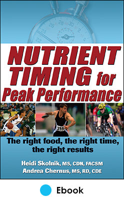 Nutrient Timing for Peak Performance PDF