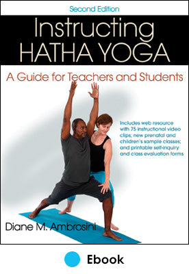 Instructing Hatha Yoga 2nd Edition PDF With Web Resource