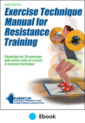 Exercise Technique Manual for Resistance Training 3rd Edition PDF With Online Video